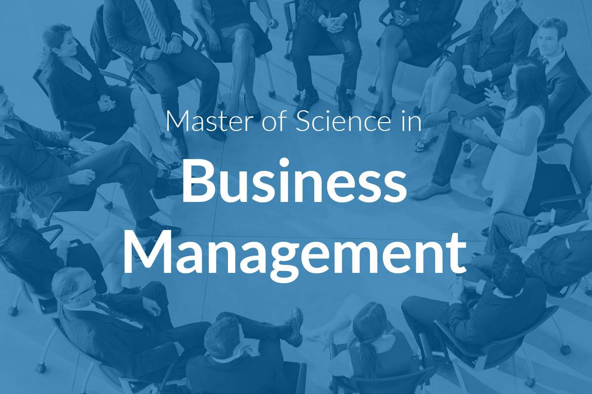 Master of Science in Business Management (MScBM)