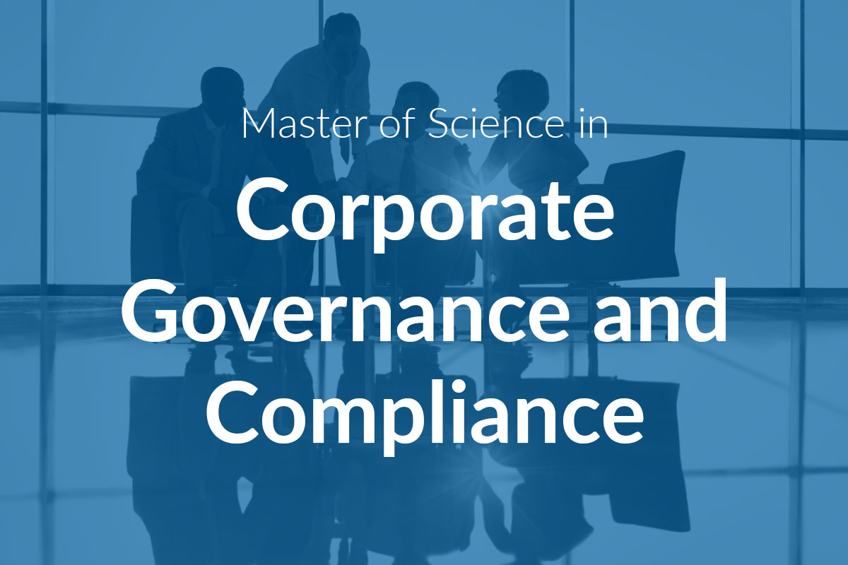 Master of Science in Corporate Governance and Compliance (MScCGC)