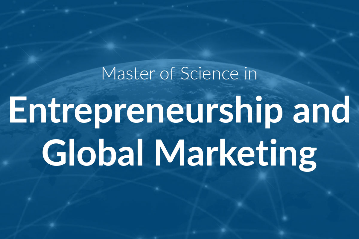 Master of Science in Entrepreneurship and Global Marketing (MScEGM)