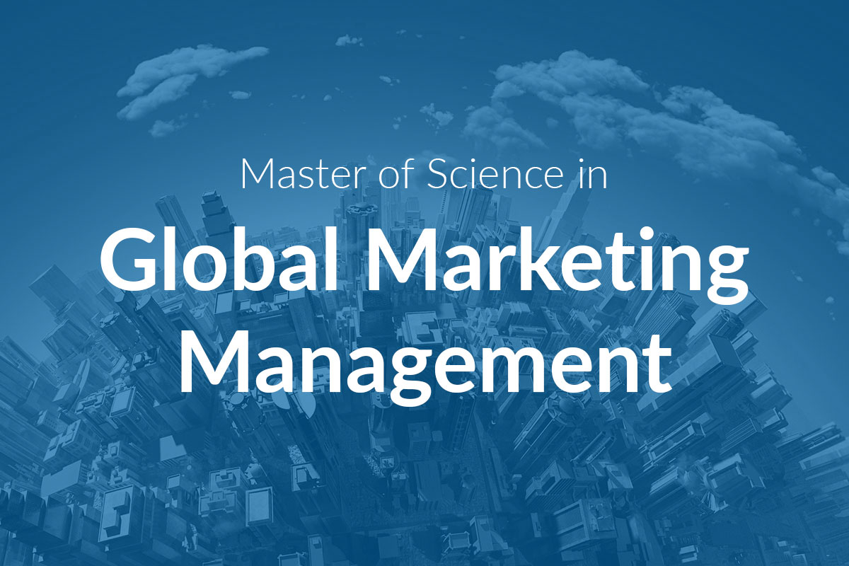 Master of Science in Global Marketing Management (MScGMM)
