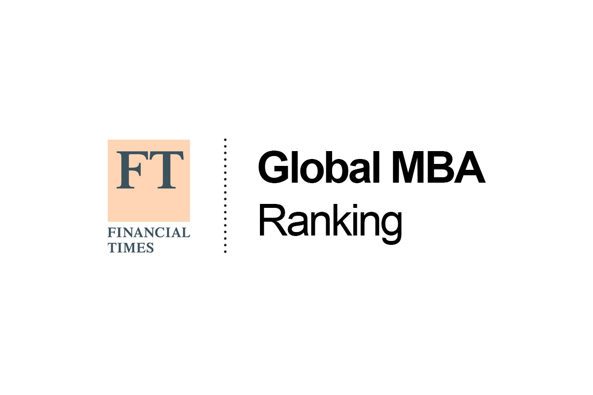 MBA in the top 100 of the Financial Times'global MBA ranking